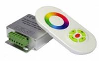 Радио RGB-Контроллер 18А (белый сенсорный пульт)