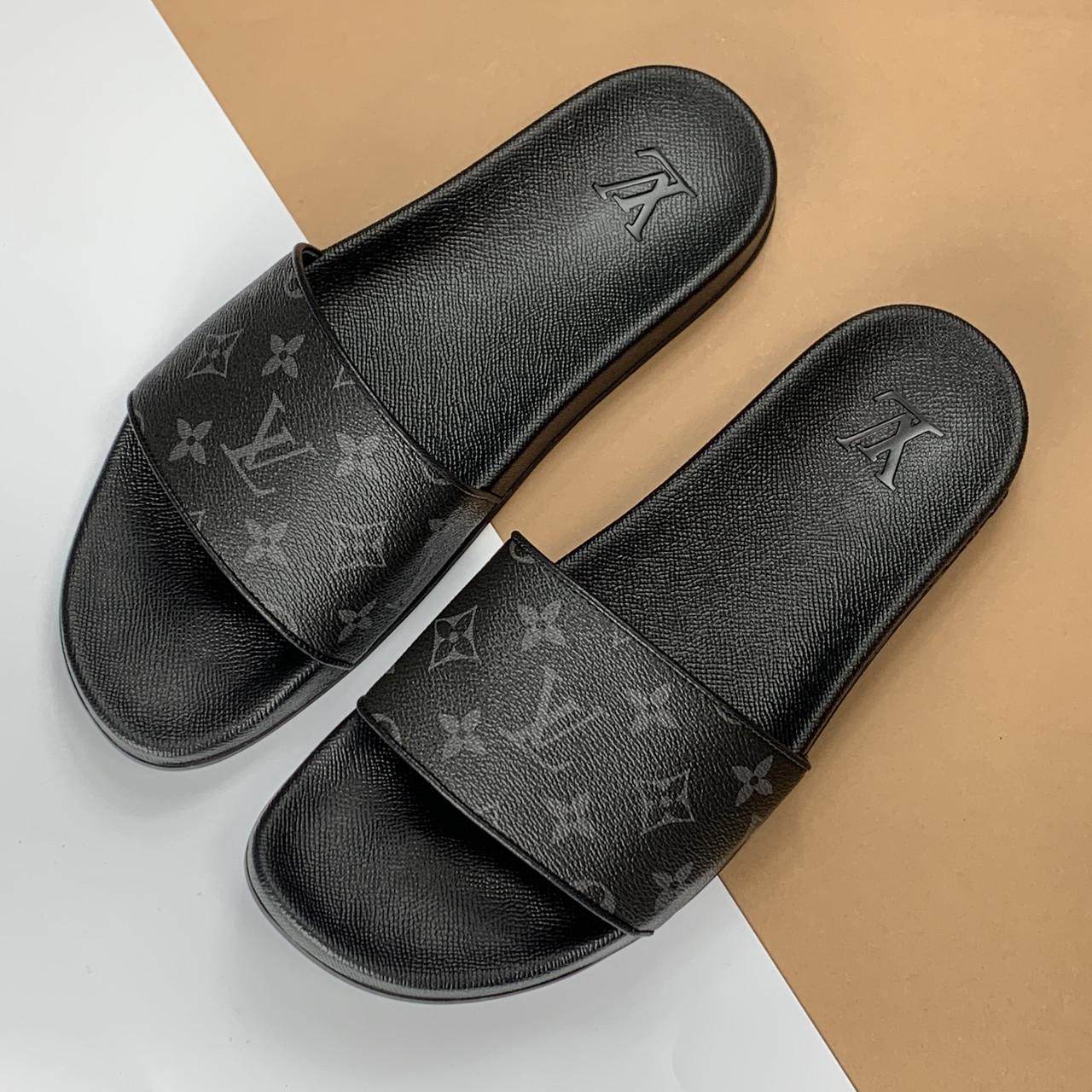 Мужские шлепанцы Louis Vuitton