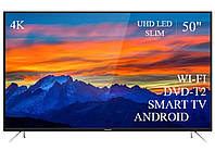 "Телевизор Томсон Thomson 50"" Smart-TV//DVB-T2/USB АДАПТИВНЫЙ UHD,4K/Android 7.0"
