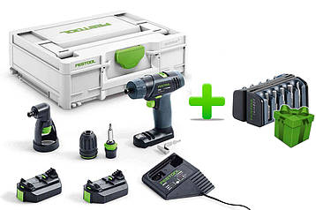 Акумуляторний дриль-шуруповерт Festool TXS 2,6-Set