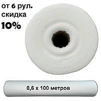 Простынь одноразовая в рулоне белая STANDART 0,6x100м. (19-21г/м2)