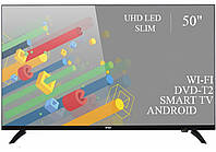 "Телевизор Ерго Ergo 50"" Smart-TV//DVB-T2/USB адаптивный UHD,4K/Android 7.0"