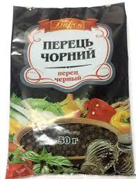 """Перець чорний горошок """"Впрок"""" 50г"""