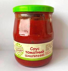 """Соус томатний Шашличний  стерелізований """"С бабушкиной грядки"""" 515 г"""
