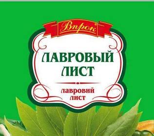 """Лавровий лист """"Впрок"""" 10г"""