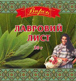 """Лавровий лист """"Впрок"""" 20г"""