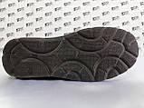 Ортопедические летние туфли синие из нубука на платформе Detta, фото 9