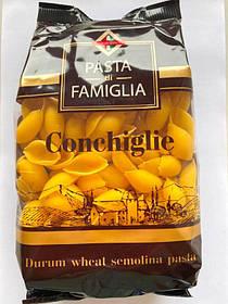 """Макаронні вироби ракушки великі """"Pasta Di Famiglia"""" 400 г"""