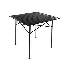 Портативный стол складной Lesko S5433 туристический для палатки барбекю 82*80 см