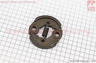 Зчеплення (коротка пружина) D=76mm, метал (202735)