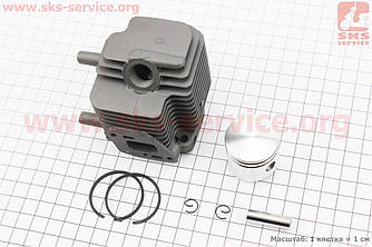 Цилиндр к-кт (цпг) 32мм (палец 8мм) ECHO GT-22, SRM-22 (213134)