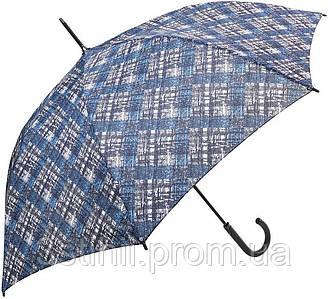 Зонт-трость Doppler 740765К-1 полуавтомат Синий клетка