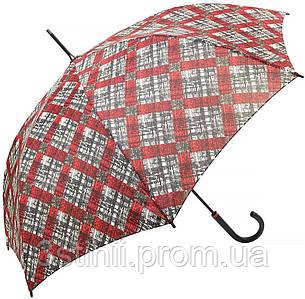 Зонт-трость Doppler 740765К-2 полуавтомат Красный клетка
