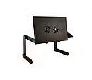 Столик для ноутбука розкладний трансформер Т8 з активним охолодженням, фото 8