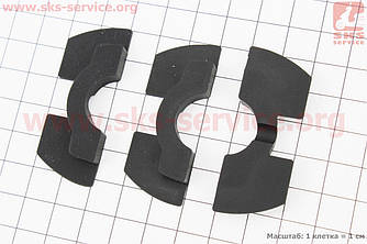 Набор демпферных уплотнителей рулевой 0,6/0,8/1,2мм (Xiaomi Mijia M365) (410041)