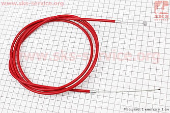 Трос заднього гальма (трос 200см; кожух 182см), червоний (410058)