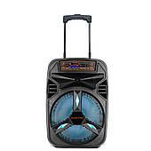 Активна акустична система Ailiang KOVAL 120 Ват, Світломузика, 12 дюймів динамік, Bluetooth колонка