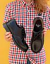 Женские туфли Dr. Martens 1461 Mono black, фото 4