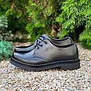 Женские туфли Dr. Martens 1461 Mono black, фото 3