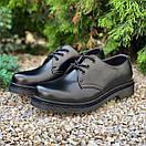 Женские туфли Dr. Martens 1461 Mono black, фото 9