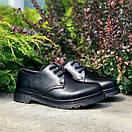 Женские туфли Dr. Martens 1461 Mono black, фото 6
