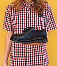 Женские туфли Dr. Martens 1461 Mono black, фото 8