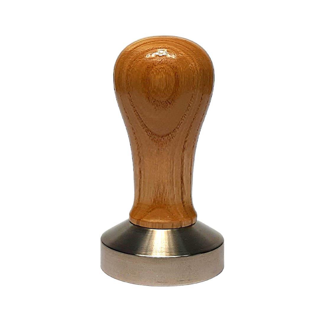 Профессиональный полноразмерный темпер с деревянной ручкой 58 мм (цвета в ассортименте)