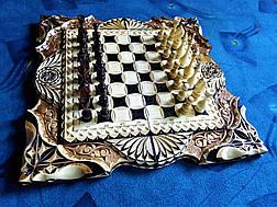 Шахматы-нарды подарочные, фото 2