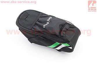 Сумка под сиденье, быстросъемная, черно-серо-зеленая (409690)