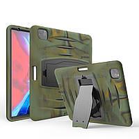 "Чехол Heavy Duty Case для Apple iPad Pro 12.9"" 2018 / 2020 Green Camo"