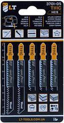 Пилки для лобзика LT-T111C 5 шт. (3701-05)