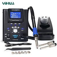 Термовоздушная мини паяльная станция 82Вт 100-480°C YIHUA 8509 с дисплеем