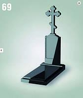 """Памятник из гранита """"Крест"""""""