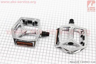 """Педали BMX 9/16"""" (111.5x102x22mm) алюминиевые, VB-249DU (406386)"""