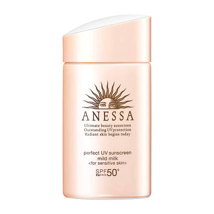Shiseido Anessa SPF50 Санскрин для лица и тела 90 мл Perfect UV Skincare Milk SPF 50+/PA++++, фото 2