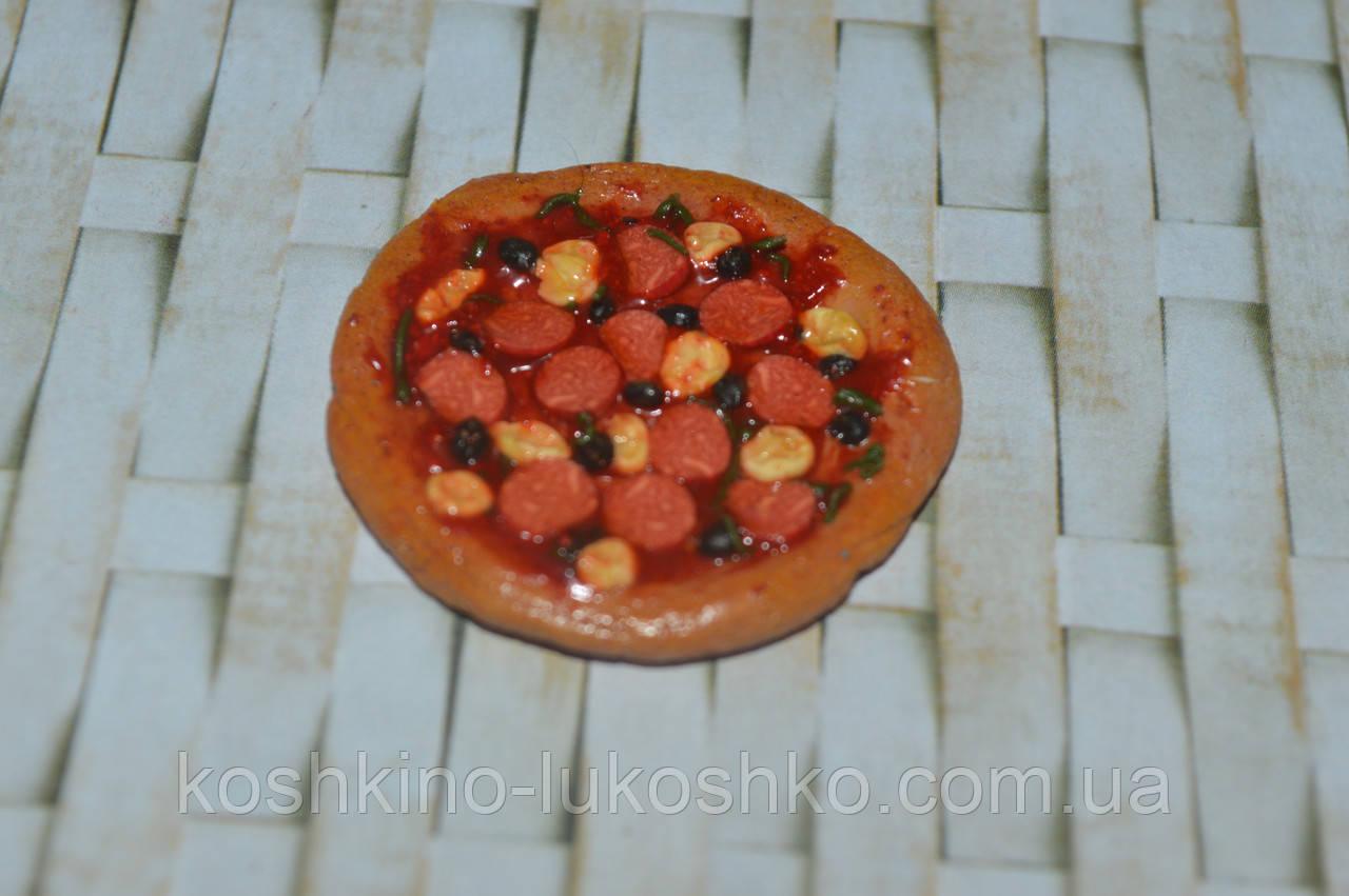 Їжа для ляльок піца 40 мм