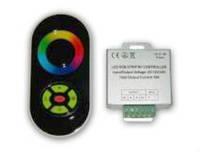 Радио RGB-Контроллер 18А (черный сенсорный пульт)