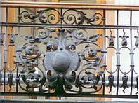 Ограждение балконов из металла