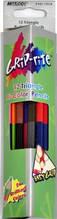 Олівці кольорові двосторонні MARCO 12/24 кольору Grip-Rite