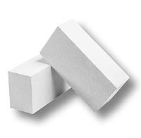 Кирпич белый силикатный, Куряж, поштучно