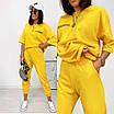 Женский прогулочный костюм Желтый, фото 4