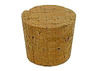 Пробка для бутылей конусная из пробкового дерева 35x30мм