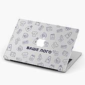Чехол пластиковый для Apple MacBook Pro / Air Ваше Лого (Your logo) макбук про case hard cover