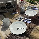 Кошик для пікніка Прованс з набором на 2 персони, фото 6