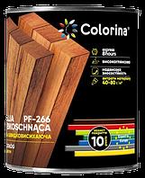 Емаль для підлоги ПФ- 266 швидковисихаюча червоно-коричнева COLORINA 0.9 л