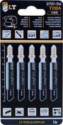 Пилки для лобзика LT-T118A 5 шт. (3701-06)
