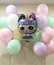 Кульки з лялькою  LOL