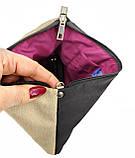 Жіноча сумочка клатч няшкі з метеликами, фото 4