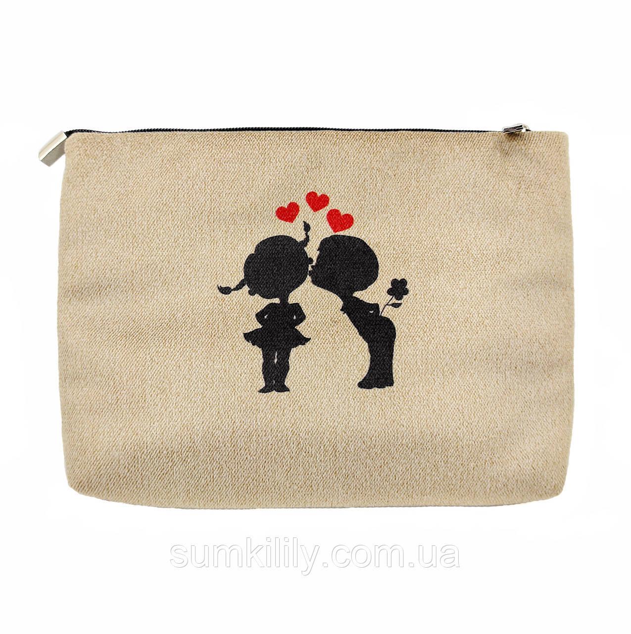 Жіноча сумочка клатч няшкі з метеликами
