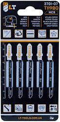 Пилки для лобзика LT-T119BO 5 шт. (3701-07)